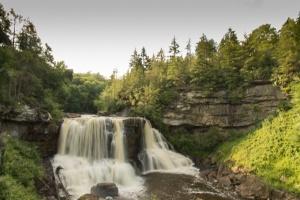 Blackwater Falls  f22    1/4 sec