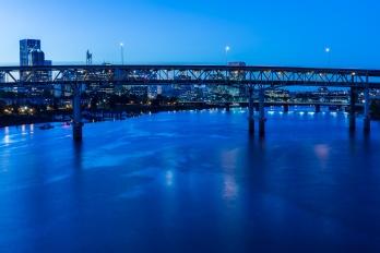 Shot from the Tillicum Bridge