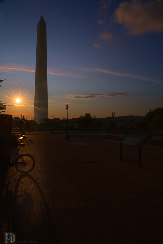 Washington Monument in Evening-7298-Edit