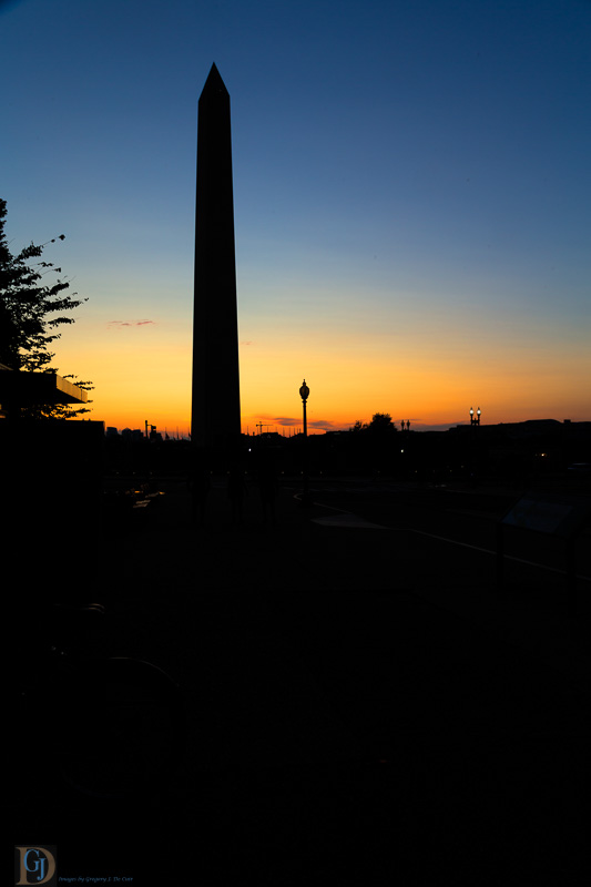 Washington Monument in Evening-7351-Edit