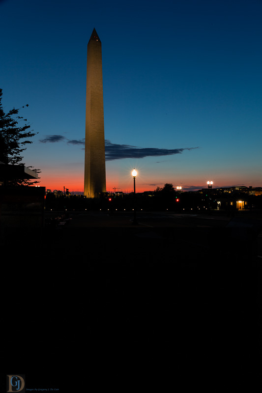 Washington Monument in Evening-7411-Edit
