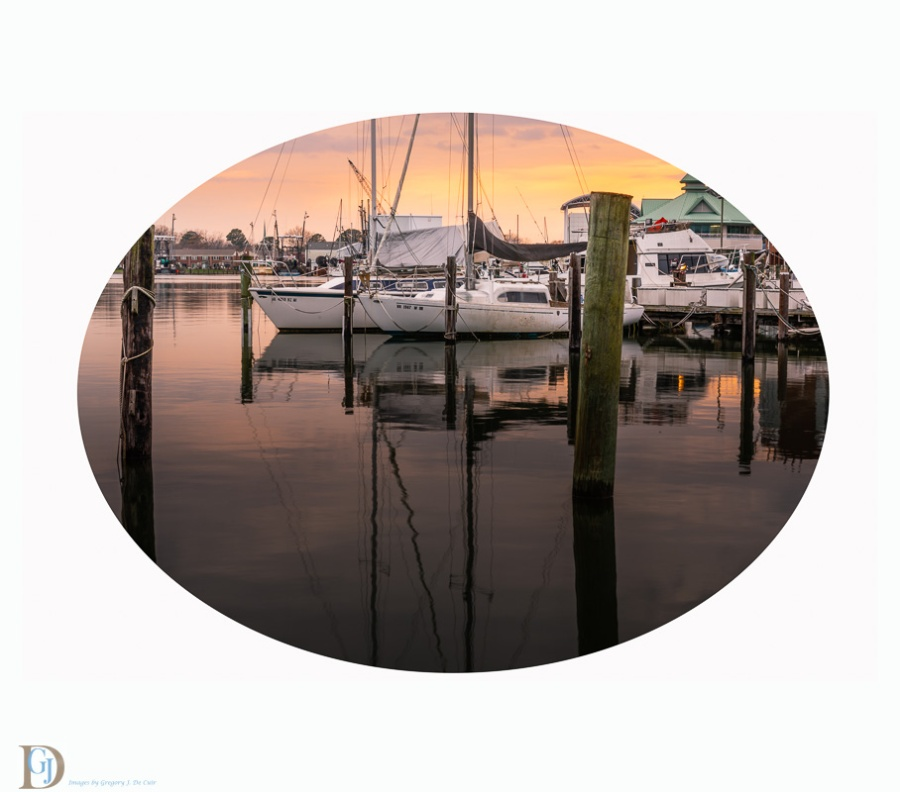 Hampton Marina Sunset