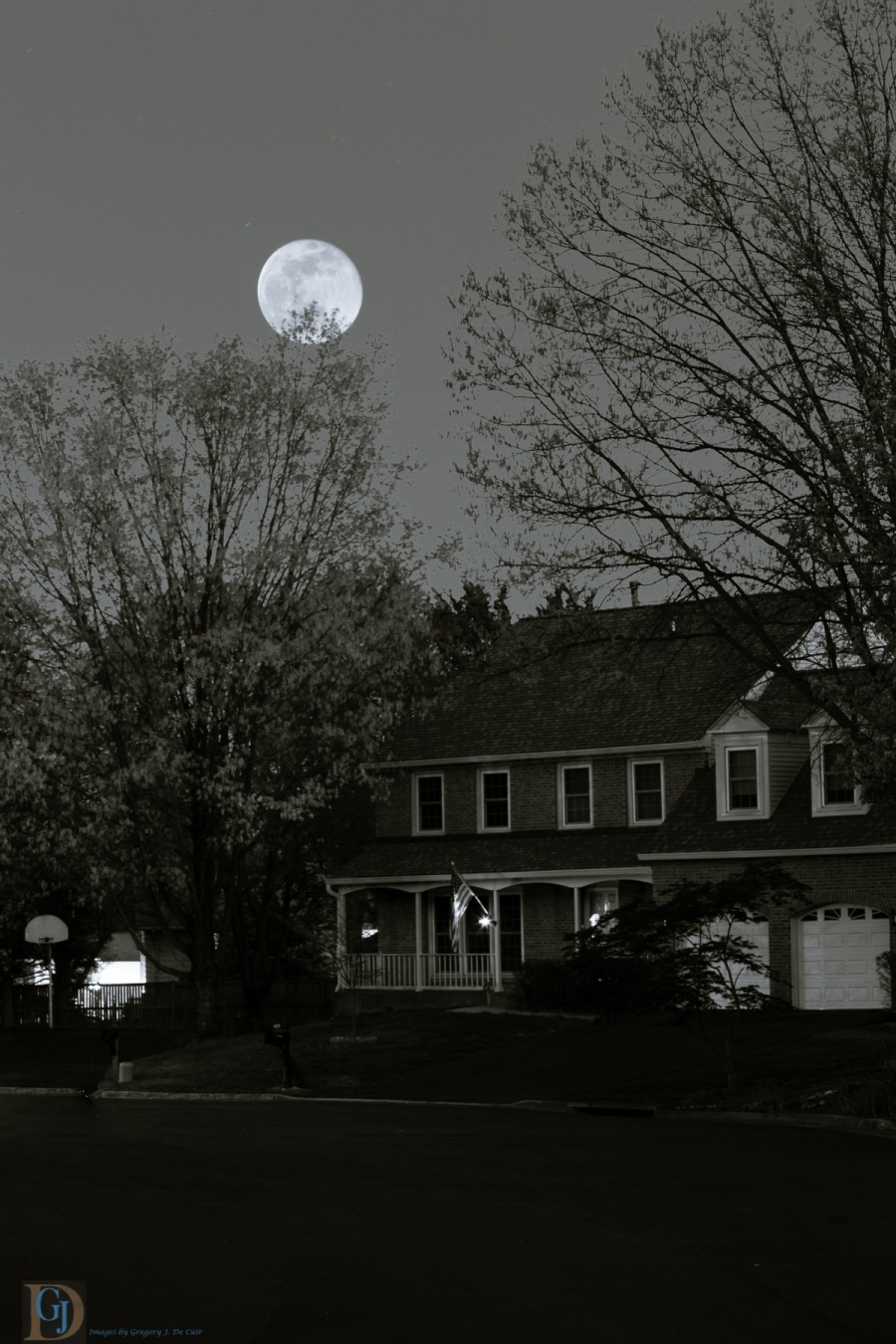 Suburban Moon